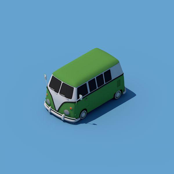 Bus 01 on Behance