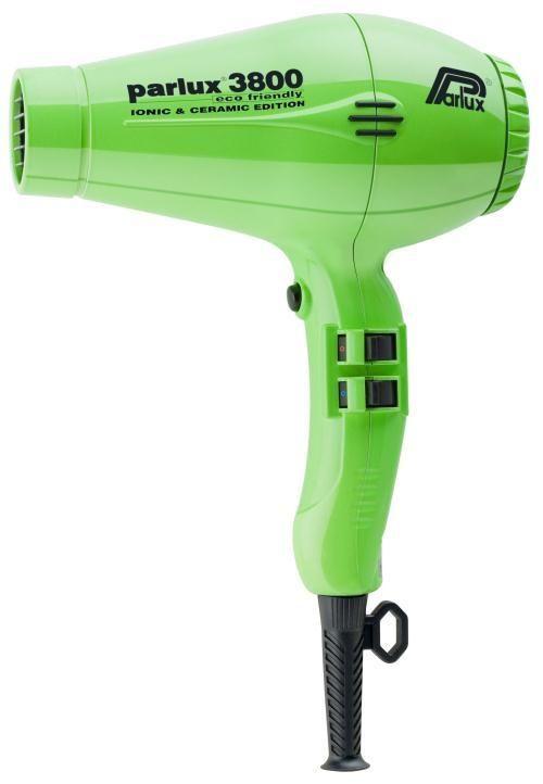 Secador de Cabelos Parlux 3800 Eco Friendly Ionic e Ceramic Edition Verde – 2100w – 220v Ass1440 - http://batecabeca.com.br/secador-de-cabelos-parlux-3800-eco-friendly-ionic-e-ceramic-edition-verde-2100w-220v-ass1440.html