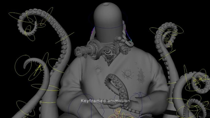 Leviathan Ages - Making of the Octopus-Emperor