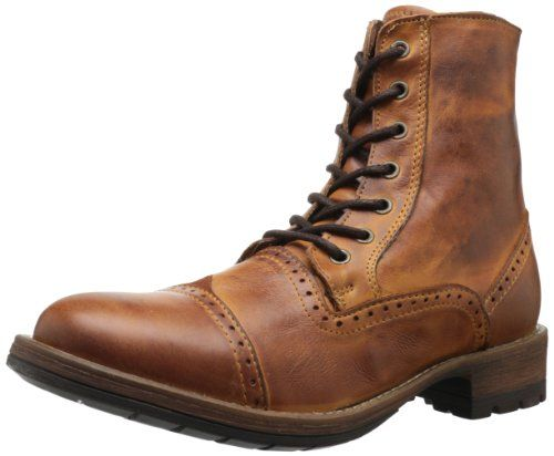 Steve Madden Men's Nathen Lace-Up Boot - Motorcycle & Combat - Shoes - We  Try Our Best To Provide Your Requirements At Prices That You Can Afford