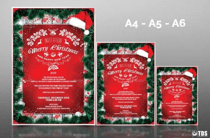 30+ Beautiful Christmas Invitation Templates for Christmas Night