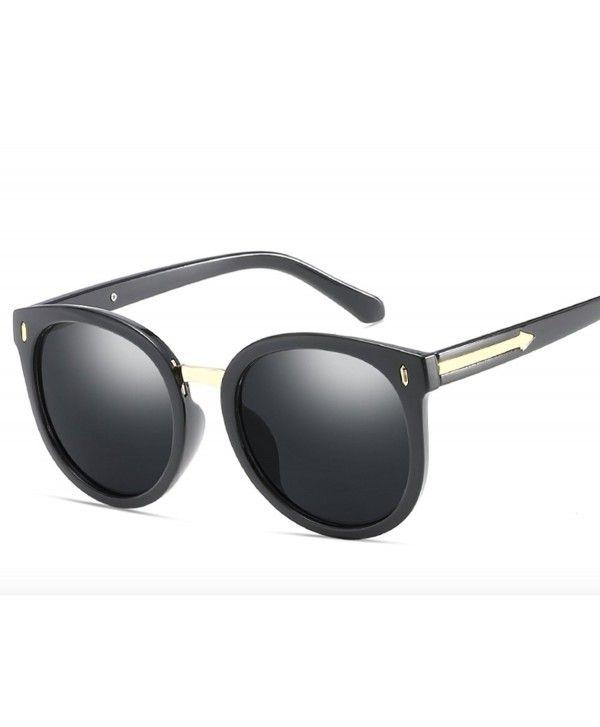 f3907852f6d Men Women UV Protection oversized polarized sunglasses - Black -  CF180E2W08E
