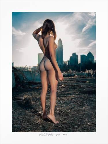 "Saatchi Art Artist A K Nicholas; Photography, ""Charlotte Skyline - limited edition 10 (sold out)"" #art"