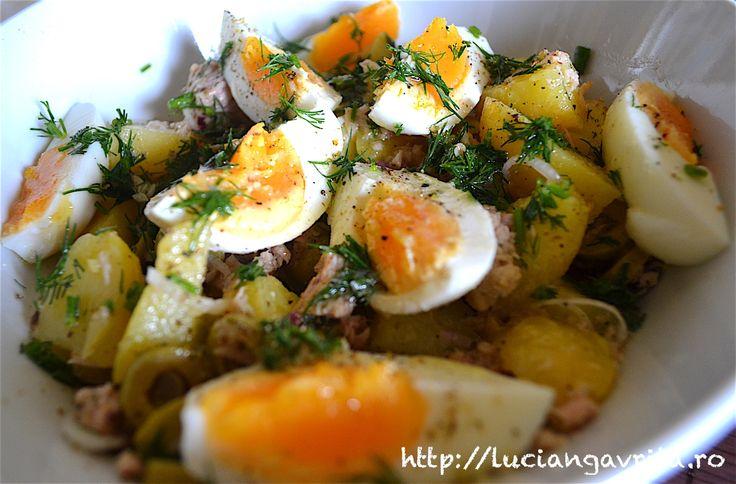 Salată de ton - Tuna salad