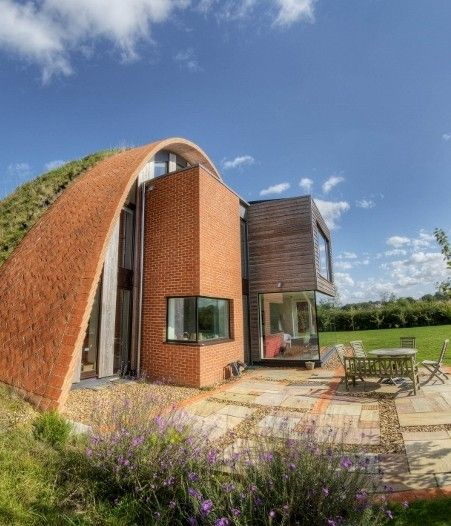 As the owner and self-builder of one of the UK's most environmentally friendly eco developments, architect Richard Hawkes is committed to embracing the latest sustainable design solutions. The Arched Eco House, an extraordinary green project situated in the heart of rural Kent, is one of Richard's finest architectural achievements and boasts some of the most innovative carbon cutting technologies available.