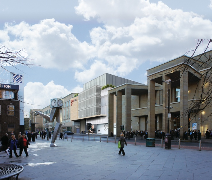 The most up-to-date artist's impression of the building's facade on Killermont Street, Glasgow.