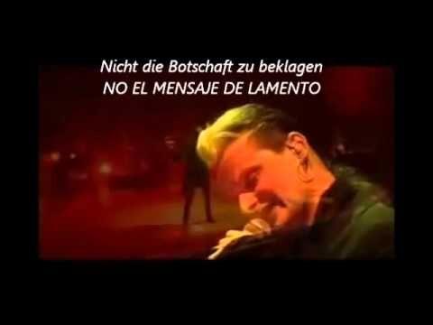 Lacrimosa - Der Morgen Danach (Subtitulos Alemán-Español)