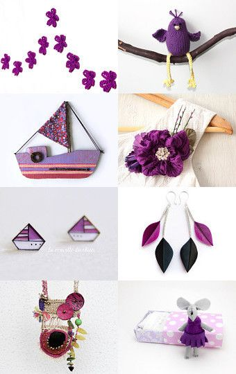 purple summer by Paola Fornasier on Etsy--Pinned with TreasuryPin.com