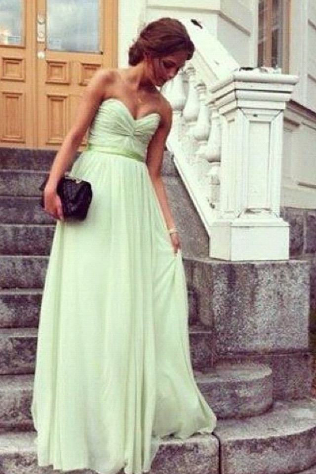 Light Green Prom Dress Tumblr