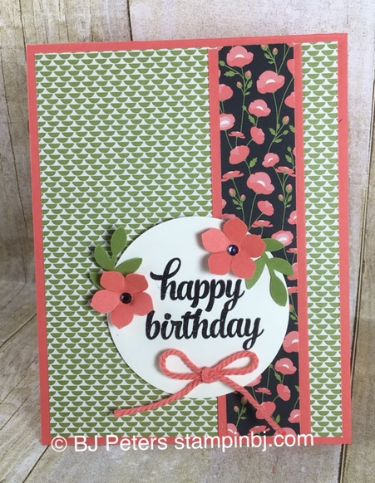 Tin of Cards, Pretty Petals, Petite Petals, Bird Builder, Stampin' Up!, BJ PEters, #stampinbj, #bjpeters