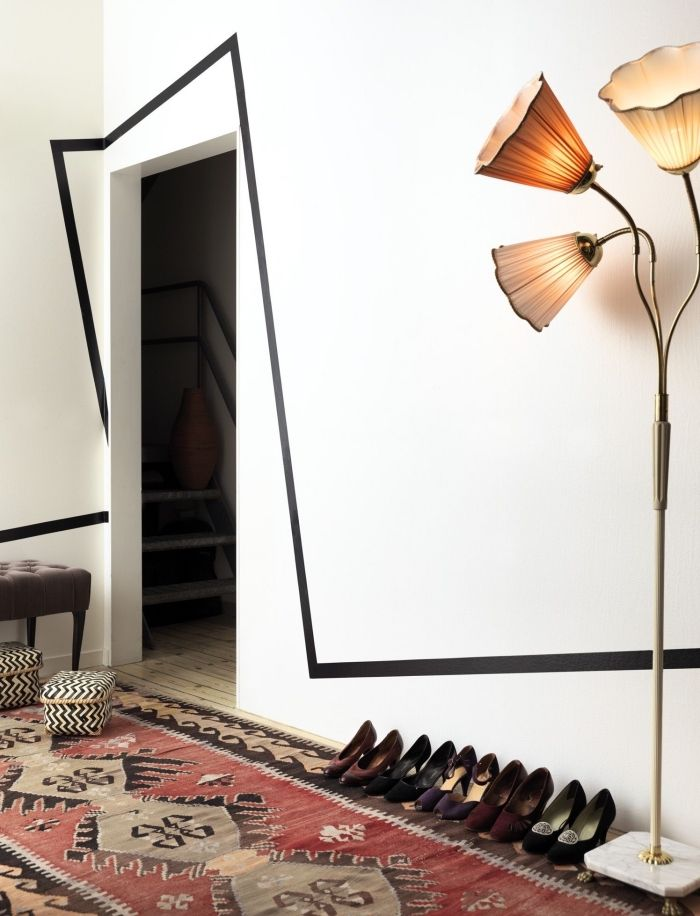 ▷ 1001 + idées petit budget de décoration de porte ...