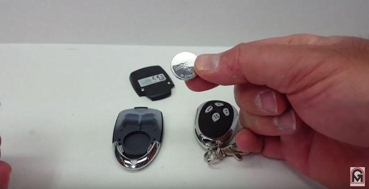 liftmaster rsl12v slide gate operator remote keyfob
