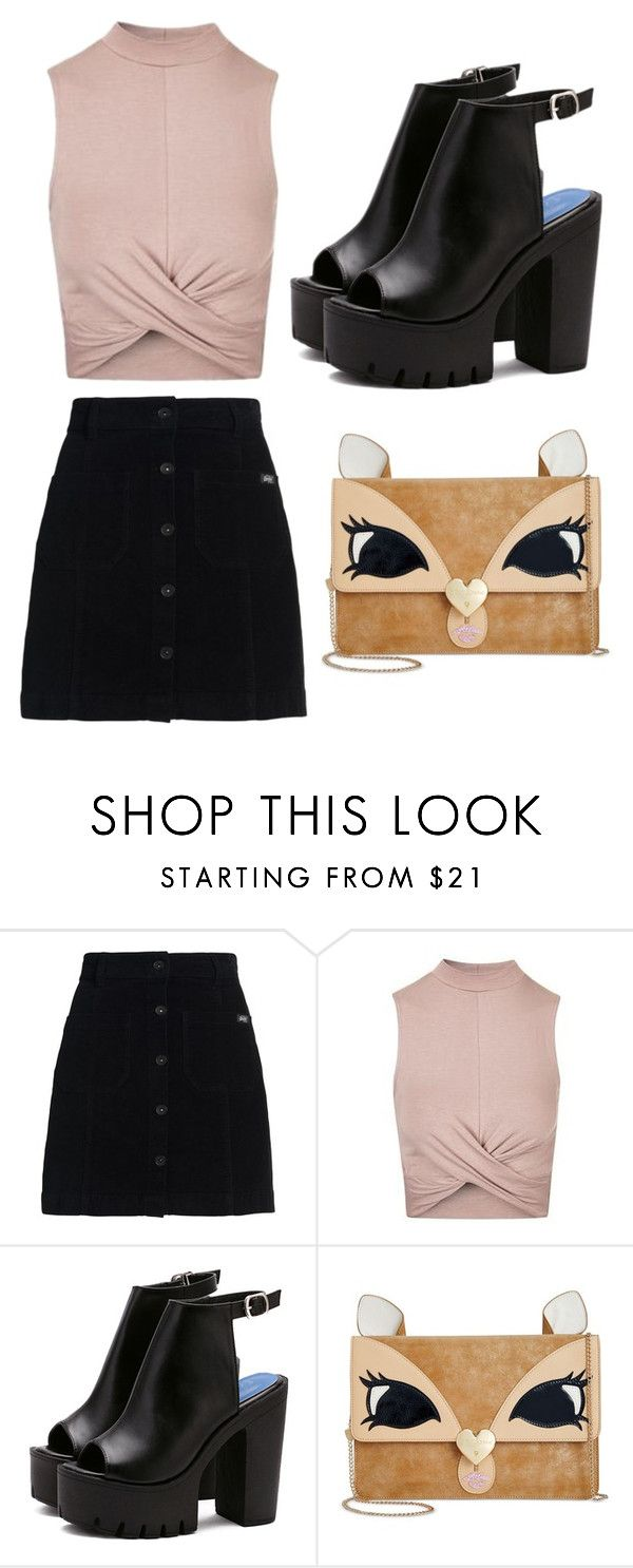 """Untitled #1134"" by jasloves5sos ❤ liked on Polyvore featuring Superdry, Topshop and Betsey Johnson"