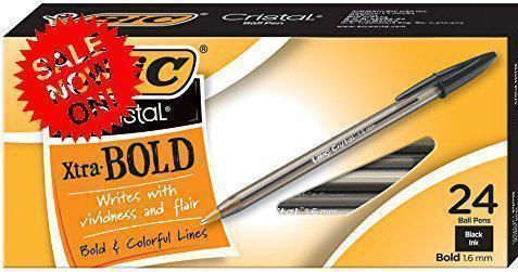 BIC Cristal Xtra Bold Ball Pen  http://ift.tt/2BbYcPL #Business #Industrial #Office #Supplies #Pens #Pencils #Ballpoint #Pens #BIC #Cristal #Xtra #Bold #Ball #Pen  #mini1store
