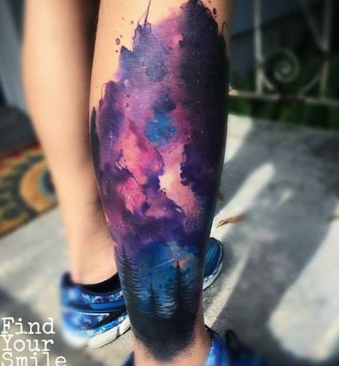 Best 25 galaxy tattoos ideas on pinterest for Galaxy tattoo sleeve