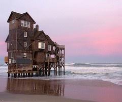 OBX house on stilts