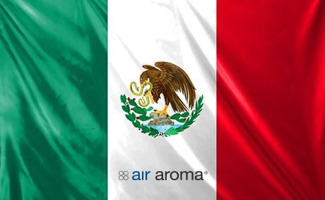 Website launch for Air Aroma Mexico