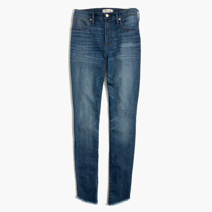 Madewell skinny jeans with tulip-hem {February 2018}