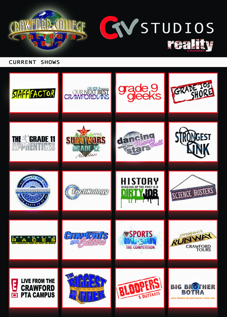 Back Cover - Reality TV Theme