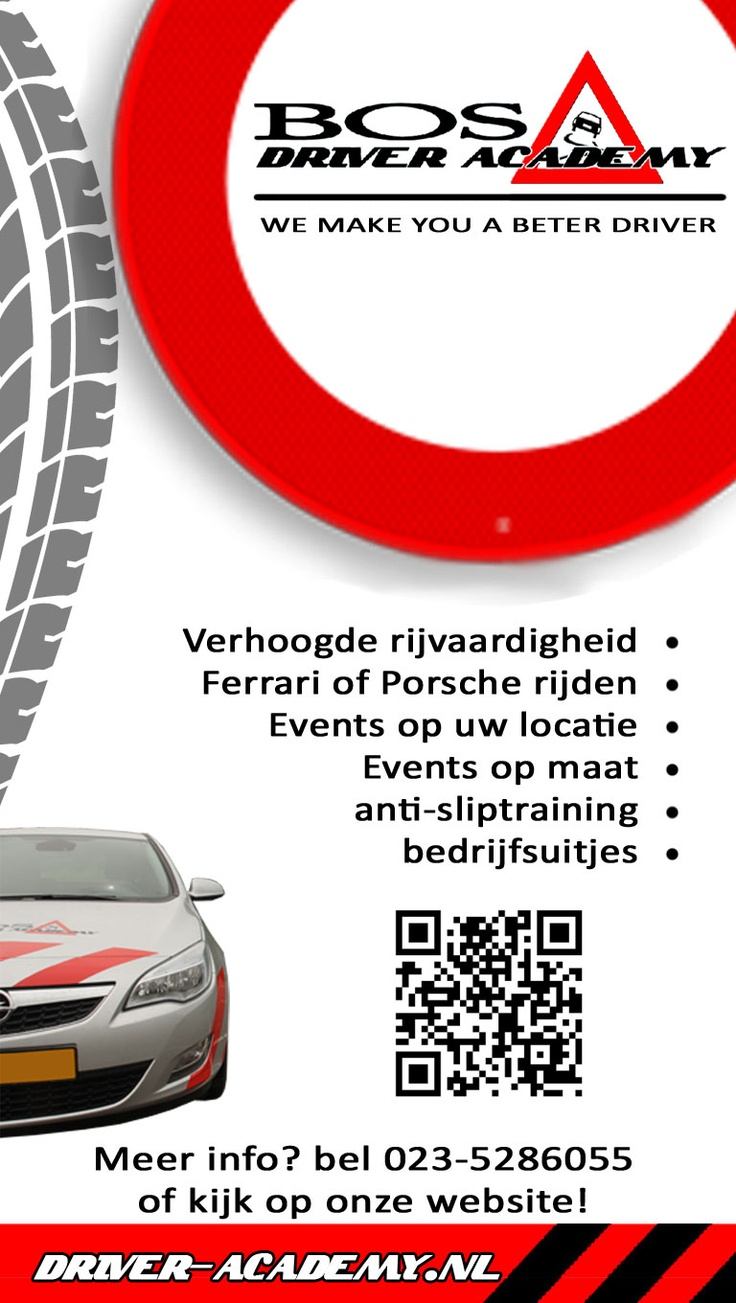 verhoogde rijvaardigheid, ferrari of porsche rijden, events op locatie, events op maat, anti-sliptraining, bedrijfsuitjes. 023-5286055, Bos Driver Academy, #Haarlem www.driver-academy.nl