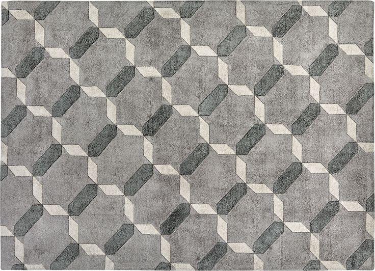 tappeto bianco nero beige colorato grigio grande geometrico lavabile moderno morbido misura sintetico texture