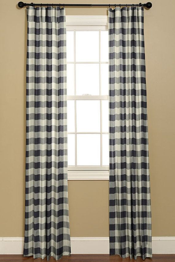 1000 Images About Country Cottage On Pinterest Buffalo Check Curtains Girls Bedroom Curtains