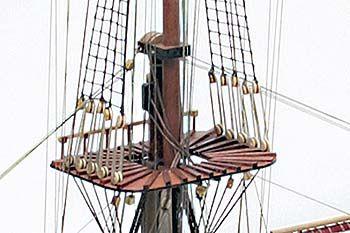 SANTISIMA TRINIDAD MODEL SHIP AT NATURE COAST HOBBY SHOP