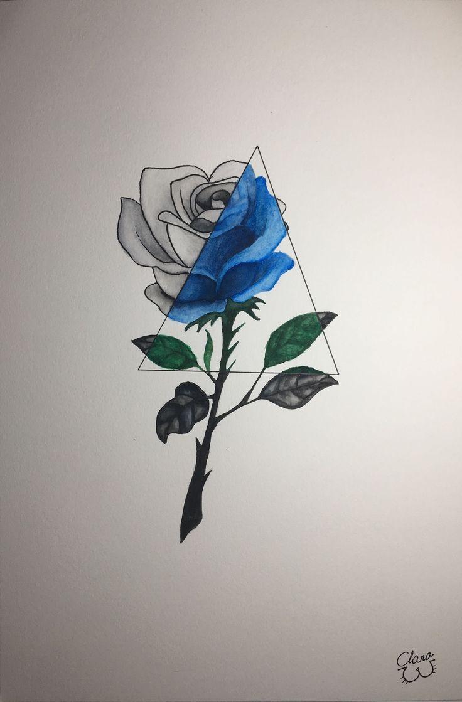 Foto Tattoo Julia ShinShin Shingareeva-Tätowierungsblumen-Sketchbook- # Fo …   – Kleid