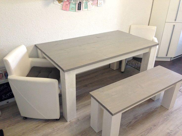 ber ideen zu esstisch shabby chic auf pinterest. Black Bedroom Furniture Sets. Home Design Ideas
