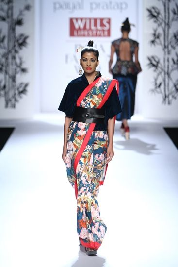 Payal Pratap at Wills Lifestyle India Fashion Week A/W 2014 asian evolution!!
