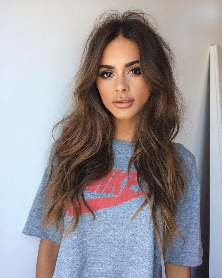 long brown hair ideas