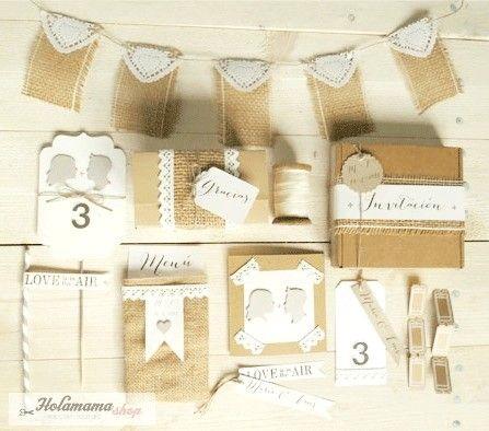 / Bodas rústicas / Eventos rústicos / Ideas originales para bodas / Decoraciones bodas / Rustic weddings / boda rustica, papel craft, craft, hecho a mano, fiesta decorativa