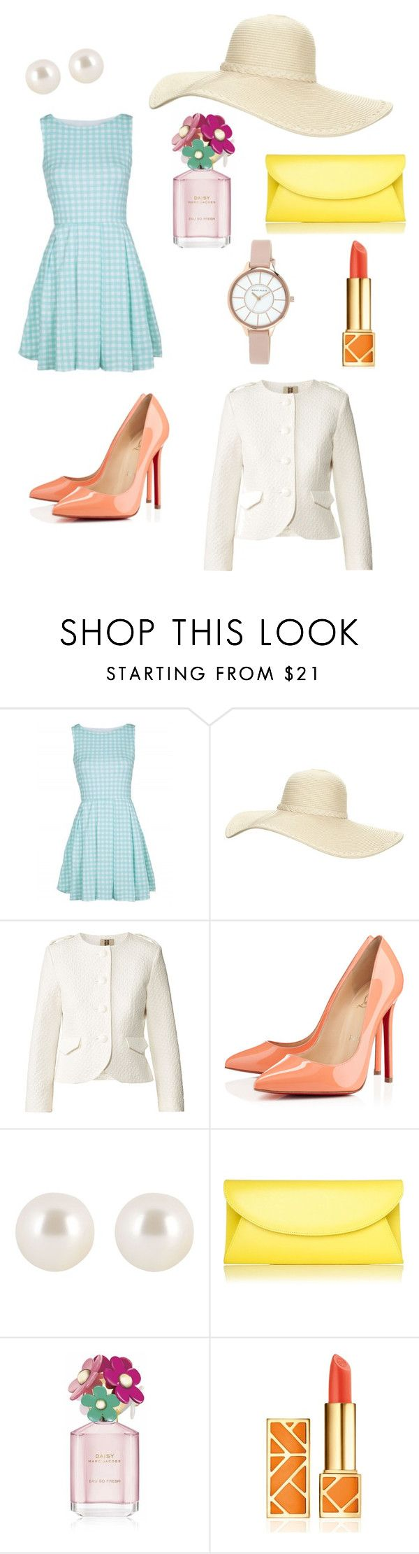"""""""Spring??"""" by anghelika-aleynik ❤ liked on Polyvore featuring Reger by Janet Reger, Orla Kiely, Christian Louboutin, Henri Bendel, L.K.Bennett, Marc Jacobs, Tory Burch and Anne Klein"""