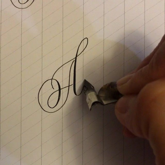 First day of #letterarchive initiative! Letter A that might look a little like…