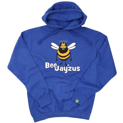 Beejayzus (Unisex Hoodie) by Hairybaby