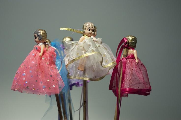 Kewpie Dolls on a stick for Perth Montessori School Fete - 3 November 2013