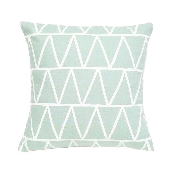 decorative generic pillowcase throw decor mint cotton dp cover light solid custom pillows ac green color