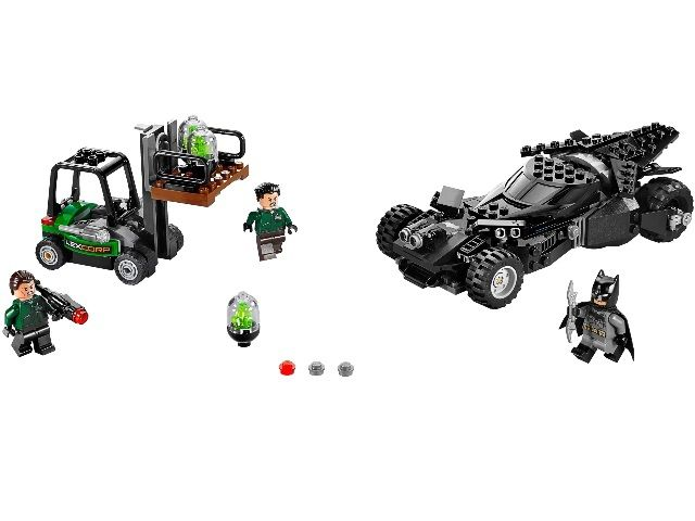 Лего 76045 - Бэтмен против Супермена: Перехват криптонита Lego