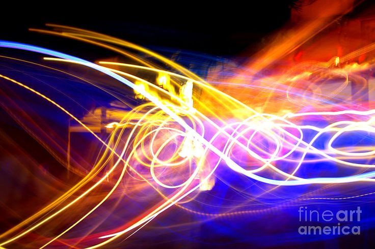 Abstract Brights Photograph  - Abstract Brights Fine Art Print