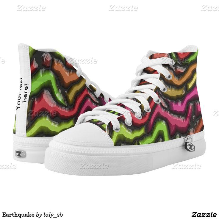 Earthquake Printed Shoes