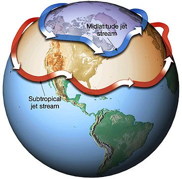 Ozone depletion trumps greenhouse gas increase in jet-stream shift