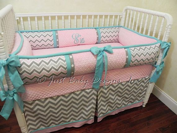 Custom Baby Crib Bedding Set Sia Girl Baby Bedding Pink Baby