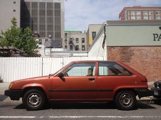 1982 Toyota Tercel Three-door Hatchback