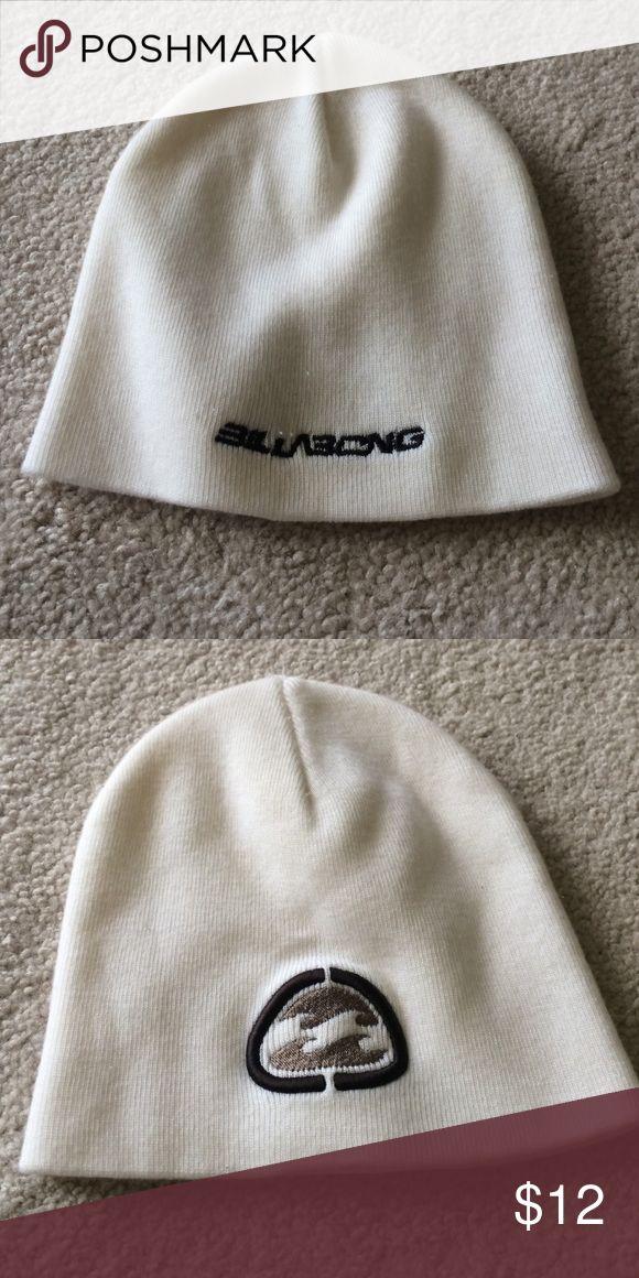 Beanie Billabong white beanies Billabong Accessories Hats