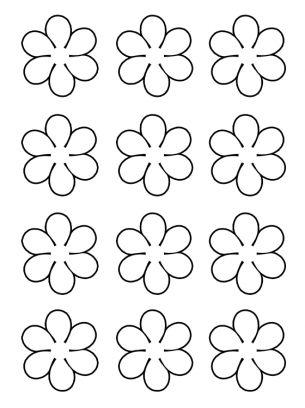 Flowers Activities Template
