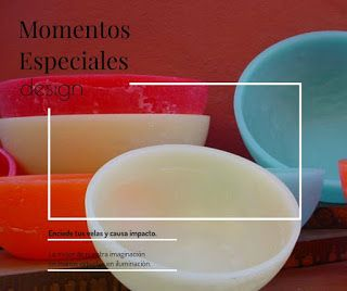 Velas decorativas Casiopea. Formas diversas y colores alegres nos brindan ambientes cálidos e íntimos.