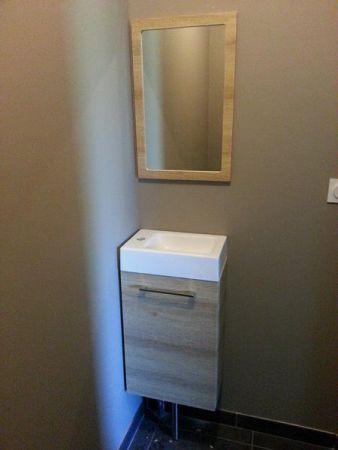 17 meilleures id es propos de meuble lave main wc sur - Leroy merlin meuble lave main ...