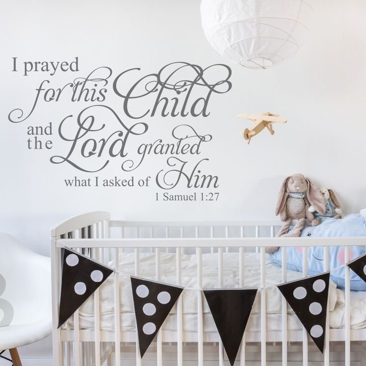 Baby Nursery Wall Decor Sayings : Best christian wall decals ideas on