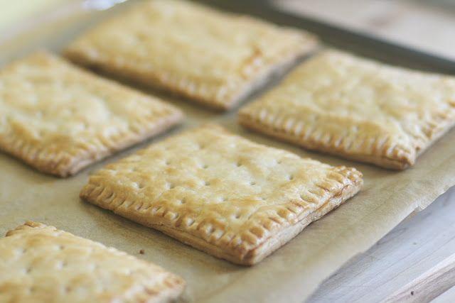 Cinnamon Brown Sugar Pop tarts -The Baker Chick
