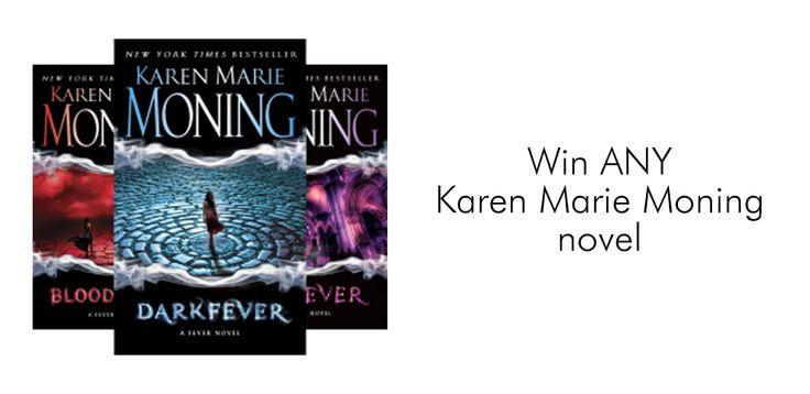 #KarenMarieMoning #Giveaway – Win ANY Karen Marie Moning Novel! #amreading #PNR